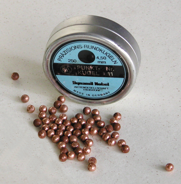 500  COPPER PELLETS  4,5 mm cal.