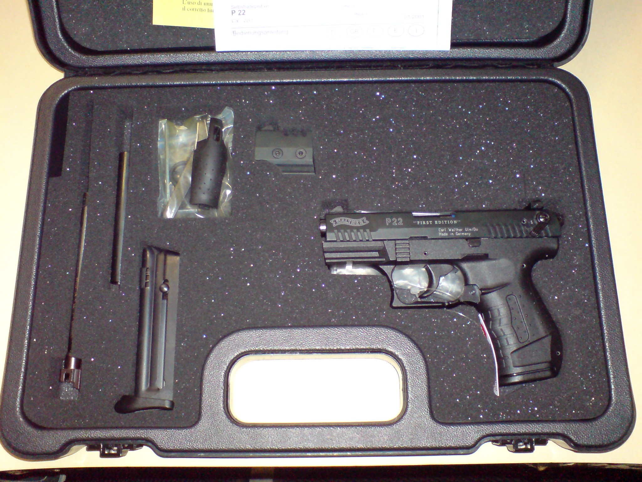 Walther P22    .22lfb Limited Edition